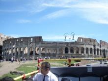 A Colosseum - nem a megszokott irányból fényképezve